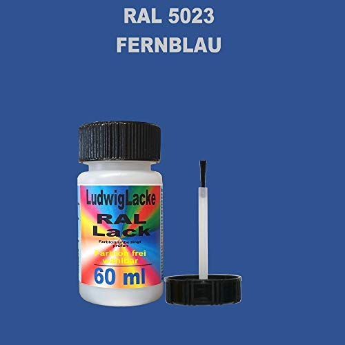 RAL 5023 Fernblau Lackstift 60ml mit Pinsel