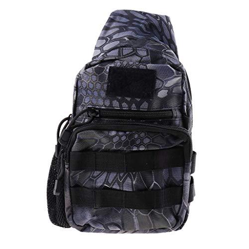 perfk 1 Stück Angeltasche Schulter Tragegurt Aufbewahrungskoffer Wasserdicht Tasche Umhängetasche - Typ 12