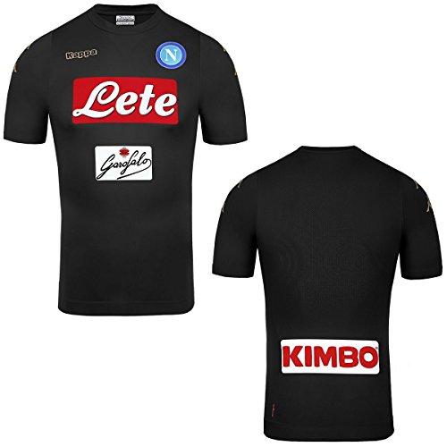 Kappa 2016-2017 Napoli Authentic Third Football Soccer T-Shirt Trikot
