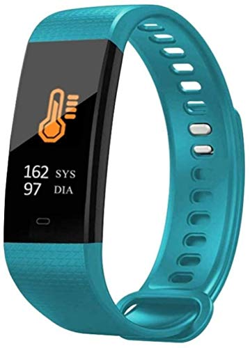GANG Fitness Tracker Smart Fitness Tracker/Smart Bracelet, Y5 Pantalla de Color Deportes Parrilla de la Plancha Pulsera Inteligente, Pulsera para Niños Mujeres Hombres Sport Fitne