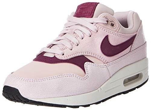 Nike Damen WMNS Air Max 1 PRM Leichtathletikschuhe, Mehrfarbig (Barely Rose/True Berry/Summit White 604), 37.5 EU