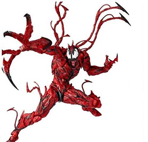 Nostalie Marvel Carnage Red Venom Spider-Man Edward Brock Action Figure Model Toys Gift Collect 16CM J017