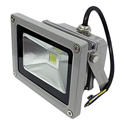 GLW LED Flood Light Outdoor Lamp SMD 120 Degree Angle IP65 COOL WHITE