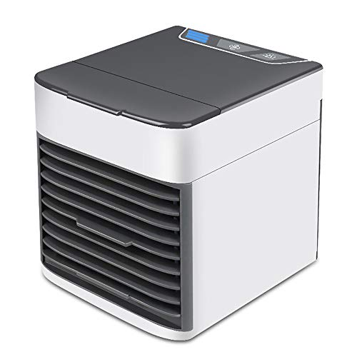 WXZM Mini Air Cooler, New Mini Air Conditioner, Portable Cooler Fan Air Conditioner Cooler for Home with New Filter Paper,White