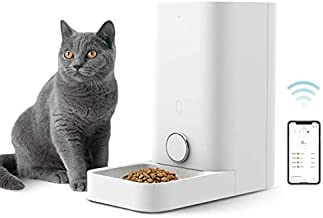 PETKIT Automatic Cat Feeder, Wi-Fi Enabled Smart Feed Pet Feeder for Cat and Small Dog, Smartphone App for iOS and Android, Work with Alexa, Portion Control, Fresh Lock System Auto Cat Food Dispenser