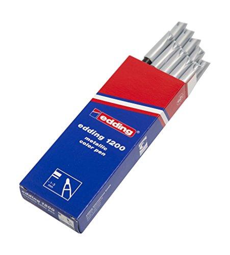 edding 1200-054 - Rotulador con punta de fibra, 10 unidades,