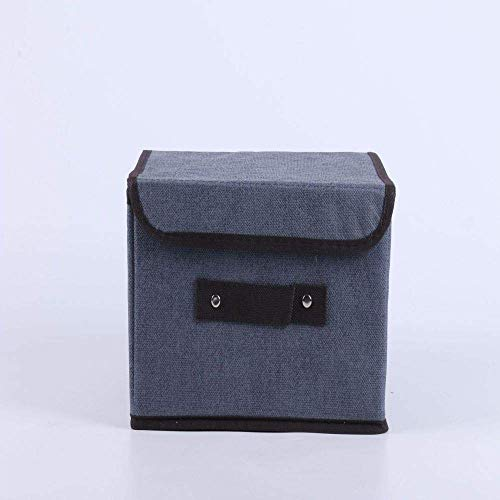Opslag Huishoudelijke Clothes Storage Box-geweven Cartoon Toy vouwen opbergdoos Fabric lili