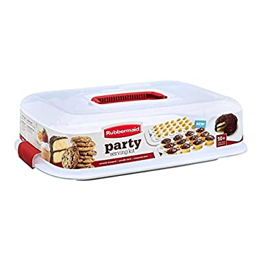 Rubbermaid Cupcake Platter, Party Serving Kit