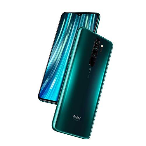 Xiaomi Redmi Note 8 Pro Smartphone (16,59cm (6,53 Zoll) FHD+ Bildschirm, 64GB interner Speicher + 6GB RAM, 64MP Vierfach-KI-Rückkamera, 20MP Selfie-Frontkamera, Dual-SIM, Android 9) Forest Green (Grün)