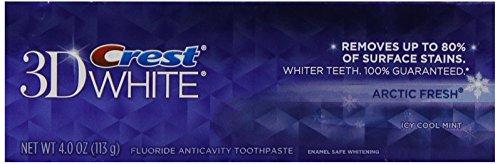 Crest 3D White Arctic Fresh Icy Cool Mint pasta dental, 5.8 oz