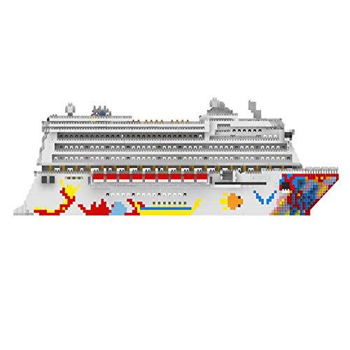 HAOZHI Diamantpartikel Puzzle Montage Baustein Spielzeug kreative DIY Geschenk, Star Dream Luxuskreuzfahrt