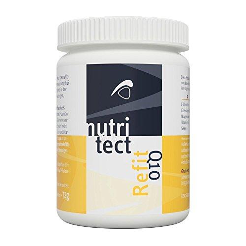nutritect ReFit Q10 - Schnellere Regeneration für Leistungssportler mit L-Carnitin und Coenzym Q10 | 60 Tabletten | Hergestellt in Bayern