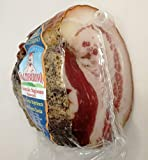 熟成 グアンチャーレ 約550g イタリア ノルチャ産 「サルミフィーチョ・ヴァルティベリーノ」