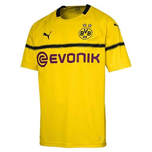 PUMA Herren Borussia Dortmund 3rd 2018/2019 T-Shirt, gelb, L-52/54
