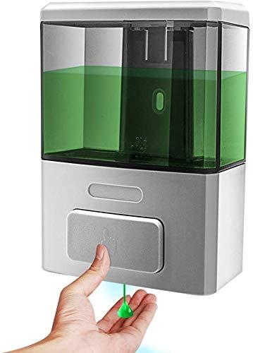 montado en la Pared para champ/ú o Limpiador de Manos 500 ml dispensador de Gel de Ducha BeiLan Dispensador de jab/ón Manual