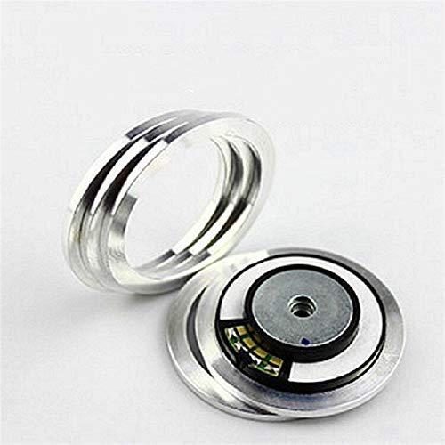 WNJ-TOOL, 2pcs Bluetooth Auriculares Partes de reparación de Altavoz de 40 mm a 50 mm Unidad de Altavoz Adaptador Anillo Auriculares Conductor Anillo de Aluminio