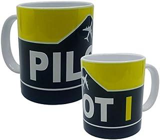 Pilot I Design Mug, Fighter gifts