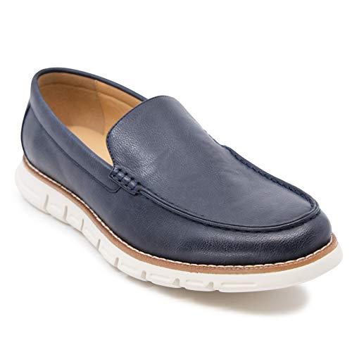 Nautica Men's Slip-On Dress Shoe Loafers Fashion Sneaker-Horace-Navy-8
