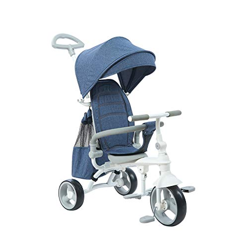 Best Deals! Jian E - Children's Tricycle Folding Baby Stroller Kids Bicycle Baby Bicycle HSR199 Ultr...