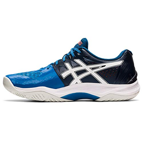 Asics Sky Elite FF, Indoor Court Shoe Hombre, Reborn Blue/White, 42 EU