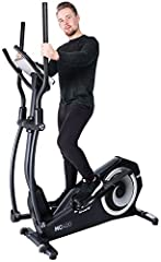Miweba Sports elliptische cross trainer MC400 Stepper elliptische cross trainer hometrainer hometrainer - streaming app - 27 kg balans massa - magnetische rem - polsmeting*