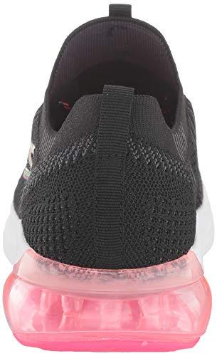 Skechers Women's Go Run Air Trainers, Black (Black and Multi Textile/Trim Bkmt), 5 UK (38 EU)