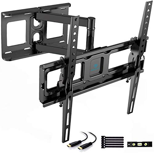 "Soporte de TV Pared Articulado Inclinable Y Giratorio – Soporte De TV para Pantallas De 26-55"" TV – MAX VESA 400x400mm, para Soportar 40 kg, Nivel De Burbuja Incluidos"
