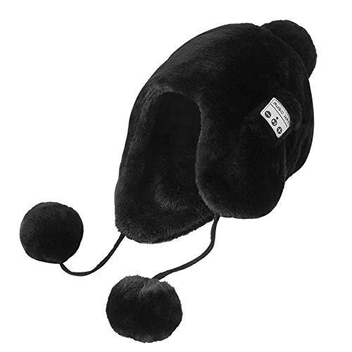 MapleMiss Lana Beanie Bluetooth del Casquillo del Sombrero de la Gorrita Tejida de Bluetooth Bluetooth Bluetooth Bluetooth Casquillo Casquillo del Knit de 2019 Actualización de Bluetooth 4.2 d