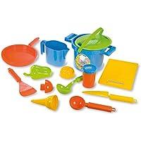 Lena Happy Sand Cook - Sets de Juguetes para areneros (14 Pieza(s), 2 L, 18 cm, Multicolor, 1 año(s), TÜV)