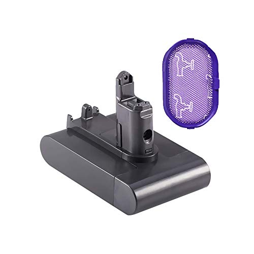 Dyson Type B Battery Replacement - (Upgraded 3500mAh 22.2V) Dyson DC31 Type B Battery Replacement Compatible for Dyson Battery DC35 DC44 DC31 DC34 Type B Handheld Vacuum (ONLY Fit for Dyson Type B)