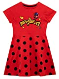 Miraculous Girls' Dress Ladybug Red Size 10