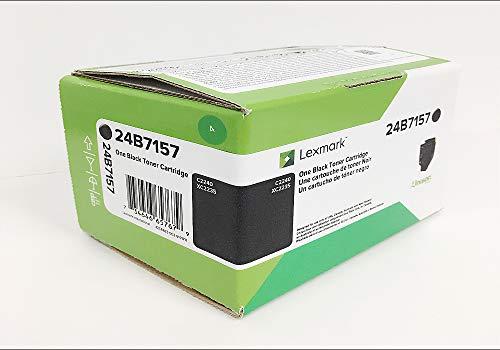 Lexmark 24B7157 C2240 XC2235 Toner Cartridge (Black) in Retail Packaging