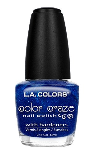 l a colors gel nail polishes L.A. Colors Craze Nail Polish, Wired, 0.44 Fluid Ounce