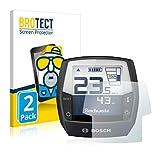 BROTECT 2X Entspiegelungs-Schutzfolie kompatibel mit Bosch Intuvia Active Line (E-Bike Display) Matt, Anti-Reflex, Anti-Fingerprint