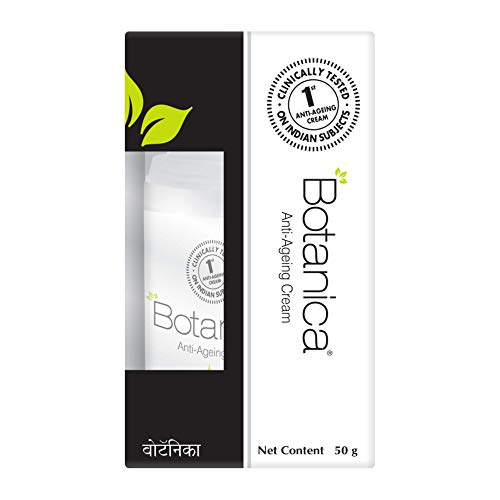 Botanica Anti Ageing cream | Controls wrinkles and fine lines | Non Comedogenic - 50 gm