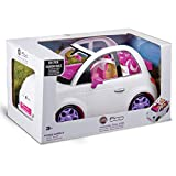 Grandi Giochi Fiat 500 - Coche para Fashion Doll, Color Blanco, 3 años +, GG00620