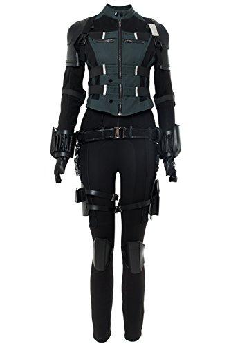 Karnestore Infinity War Black Widow Natasha Romanoff Outfit Cosplay Kostüm Damen M