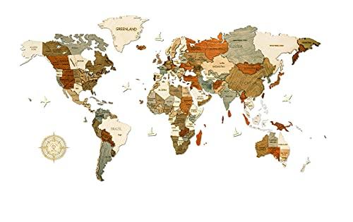 ikea wereldkaart hout