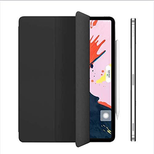 Magnetische beschermhoes voor iPad Pro 12,9 inch 2018, magnetische houder met intelligente verbinding met W/Auto Sleep/Wake-functie [ondersteuning van de 2e generatie styluspen.