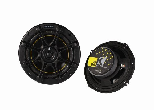 4 New Kicker DS65 6.5' 200 Watt 4-Ohm 2-Way DS Series Car Audio Speakers 11DS65