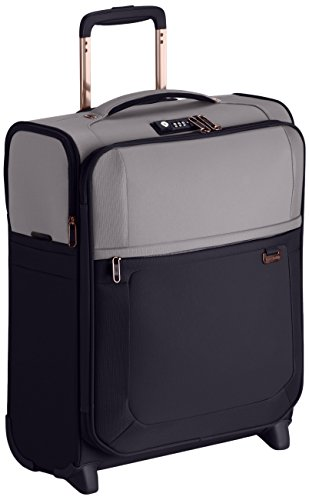 Samsonite Uplite Upright 50/18 Bagaglio a Mano, Nylon, Pearl/Blue, 37 ml, 50 cm