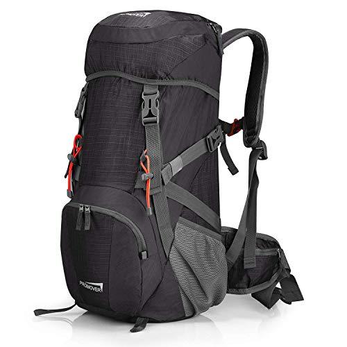 Promover Großer 35 l Reiserucksack Wanderrucksack Tagesrucksack Wasserdicht Camping Rucksack mit Regenschutz für Camping Erwachsene