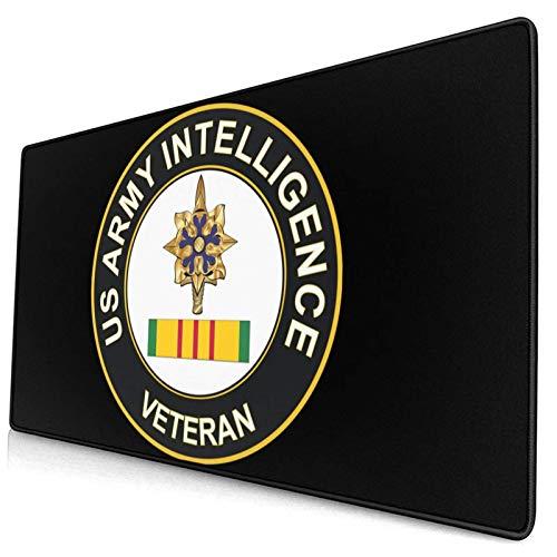 Army Intelligence Vietnam Veteran Design - Alfombrilla de ratón cómoda (40 x 74 cm)