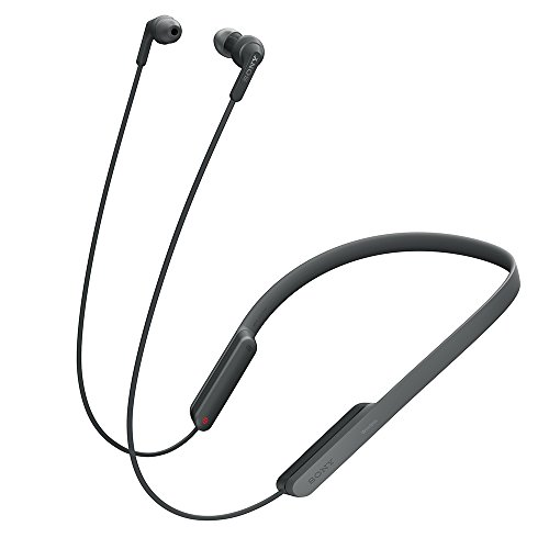 ソニー ワイヤレスイヤホン MDR-XB70BT : Bluetooth対応 リモコン・マイク付き ブラック MDR-XB70BT B