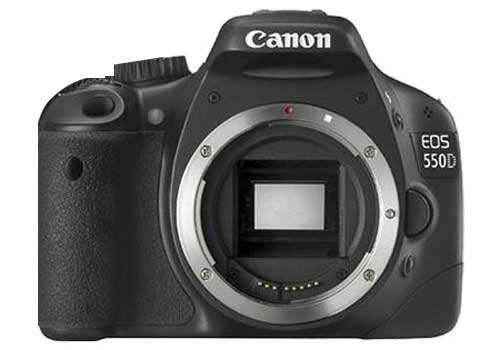 Canon EOS 550D (European EOS Rebel T2i) 18 MP CMOS APS-C Digital SLR Camera with 3.0-Inch LCD and EF-S 18-55mm f/3.5-5.6 is Lens (Body & Lens Made in Japan)