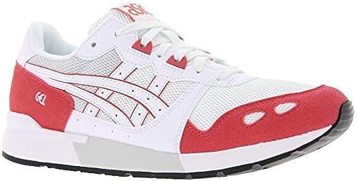 ASICS Turnschuhe Turnschuhe Coole Schuhe Gel-Lyte Freizeitschuhe Weiß Rot, Grünauswahl 37.5