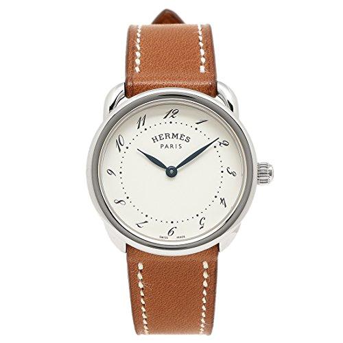 (エルメス) HERMES HERMES 時計 エルメス 040135WW00 AR5.210.130/VBA-I ARCEAU アルソーPM レディース腕時計 ウォッチ ブラウン/シルバー/ホワイト [並行輸入品]