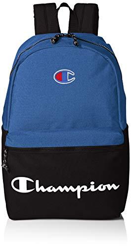 Champion Men's Manuscript Backpack, blue, One size