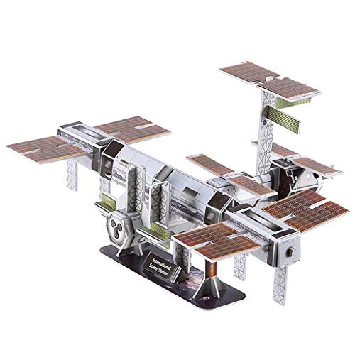 niumanery 3D Aerospace Solar System Globe Puzzle Jigsaw Educational Toy DIY Assembled Gift F