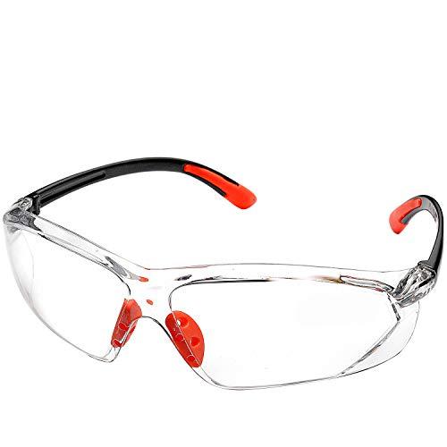 SAFEYEAR Gafas Trabajo Protección Ciclismo Hombre Con Lentes Antivaho y Transparente -...